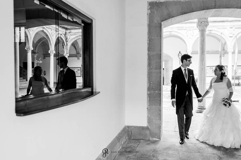 imagenes de boda en Palacio de los Medinilla en Ubeda