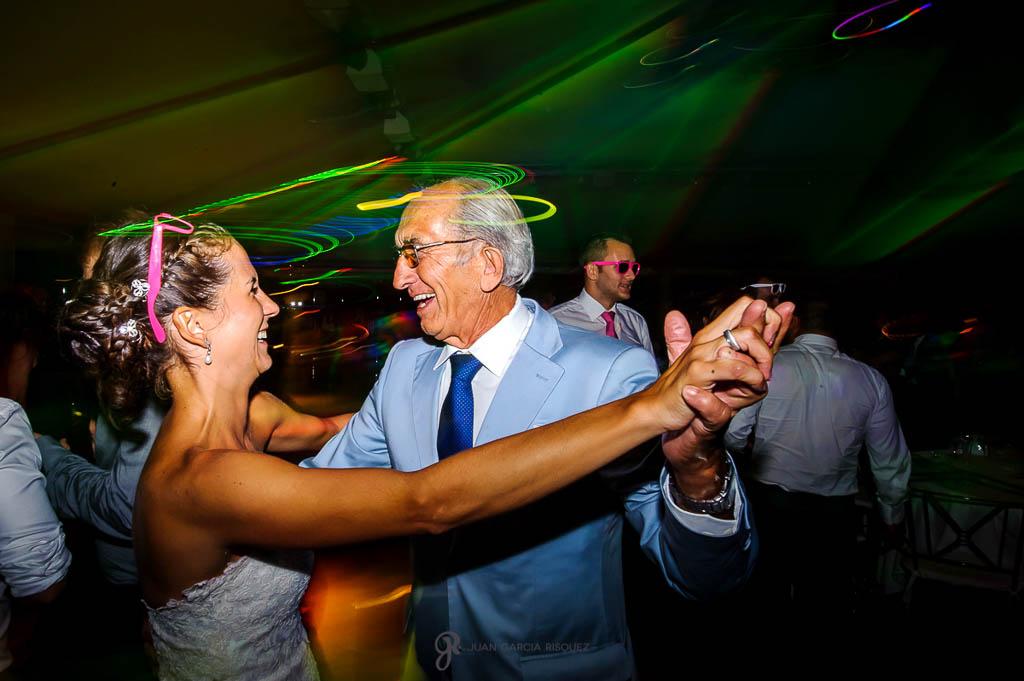 reportaje de boda en Madrid fiesta y baile