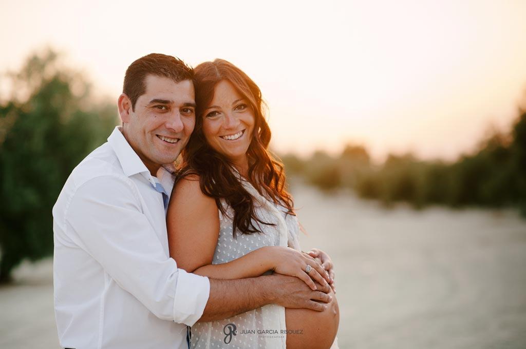 reportaje de fotos de embarazo pareja
