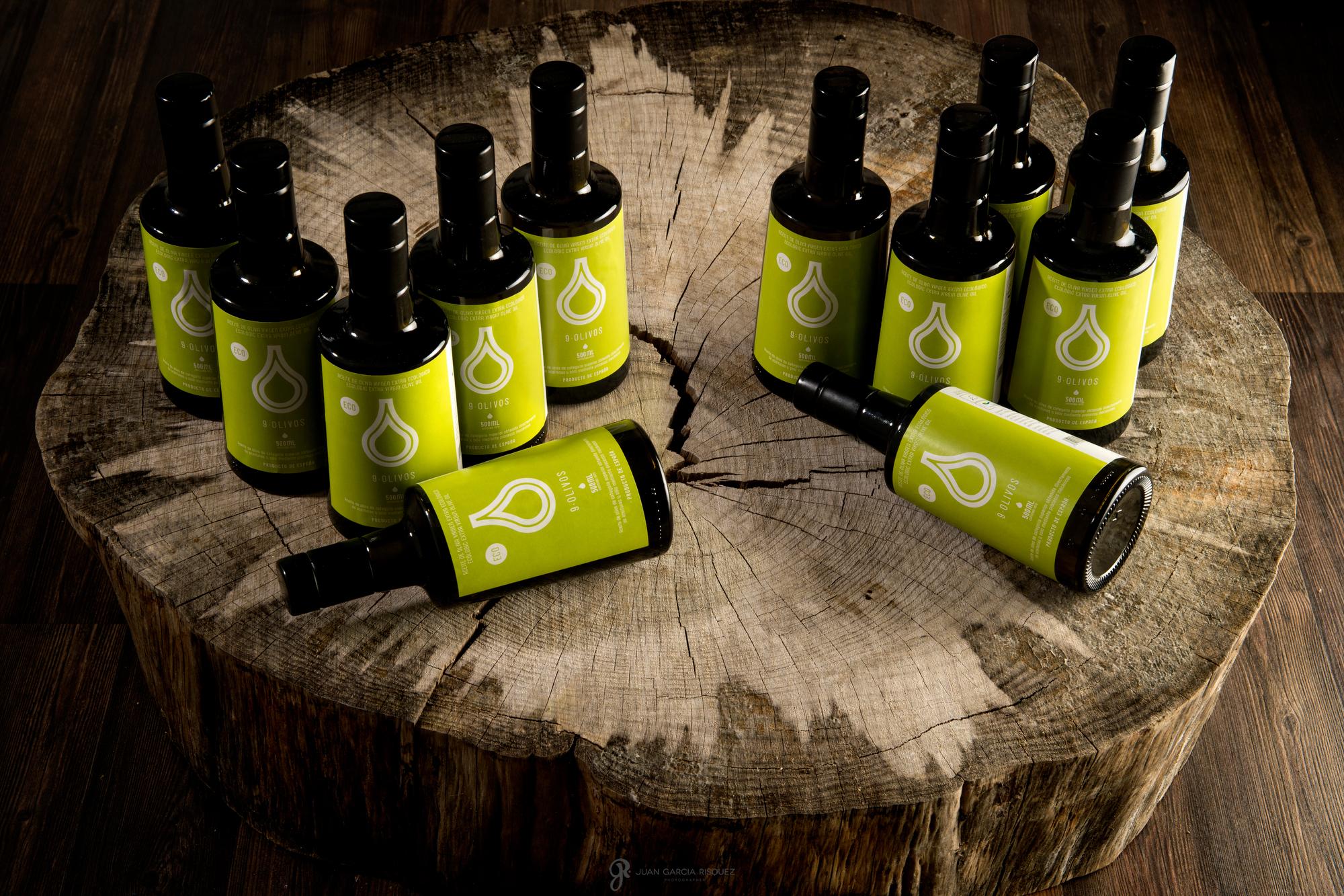aceite de oliva 9 olivos en Jaen