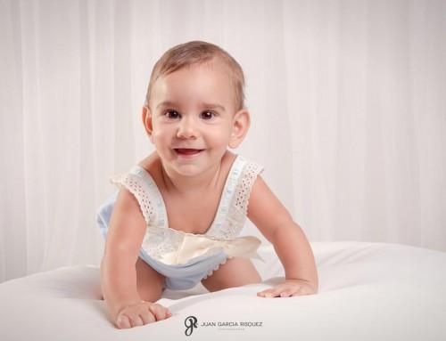 Reportaje de fotos de bebé en Jaén de Pablo