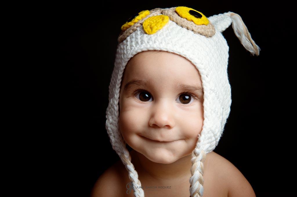 reportaje de fotos de bebes en estudio Jaen