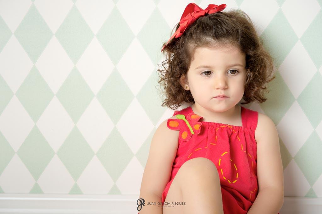 reportaje de fotos de niños para regalo de recuerdo