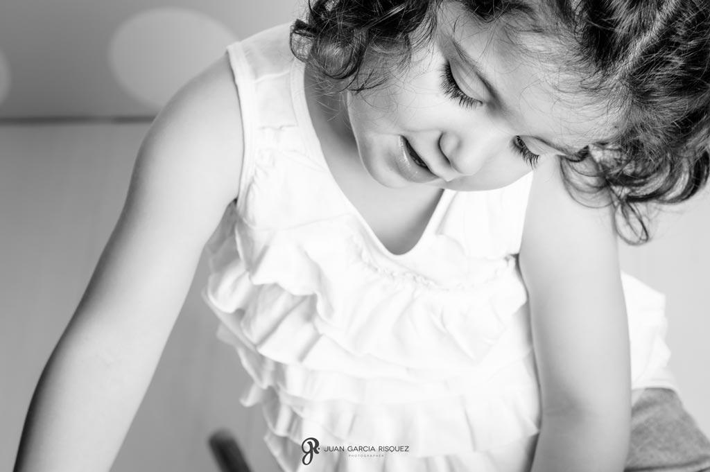 estudio profesional de fotos para niños en Jaen
