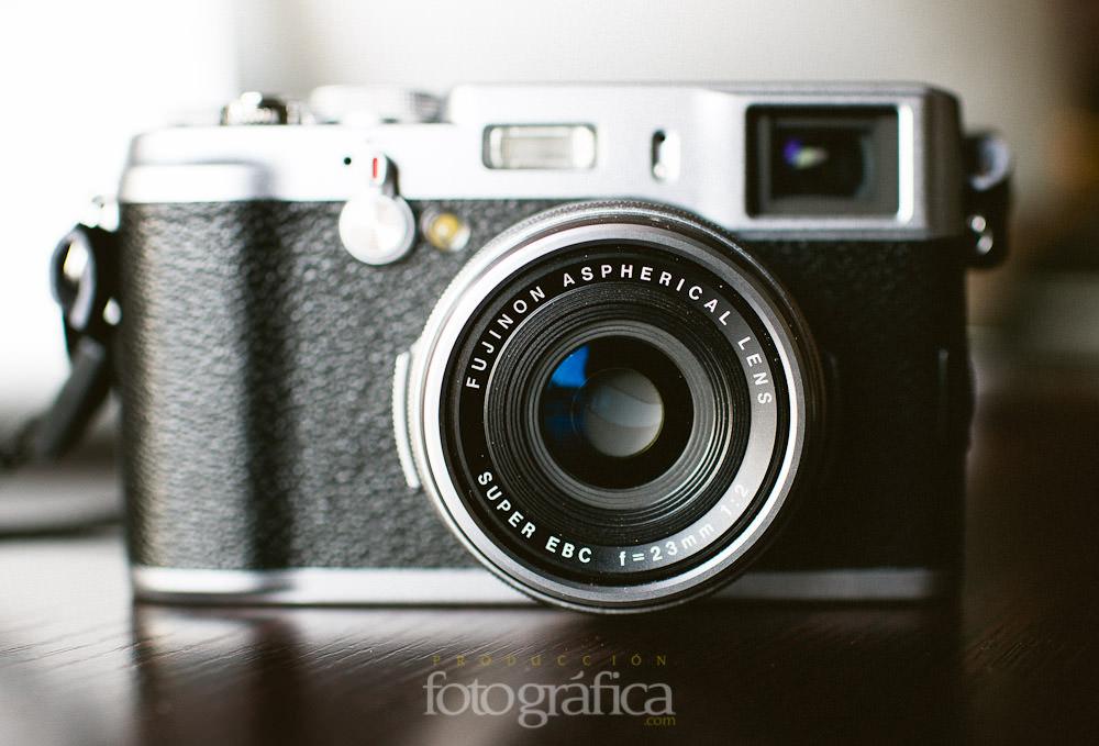 Fuji X100 para fotografo de bodas