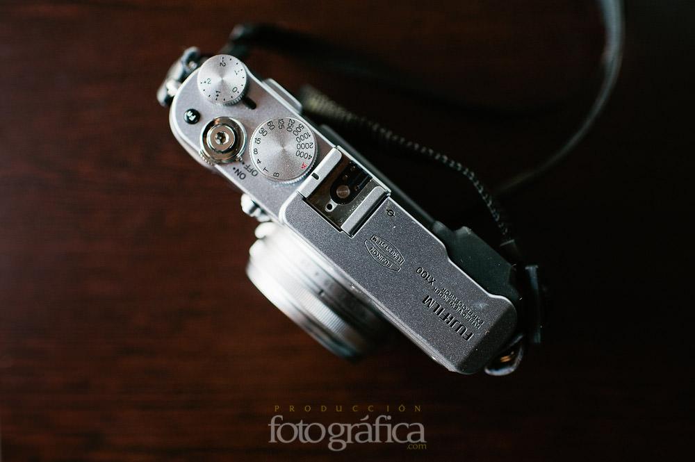 Foto de una cámara especial para un fotógrafo de bodas en Jaén