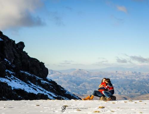 Dulce espera en la nieve – Fotos de embarazo