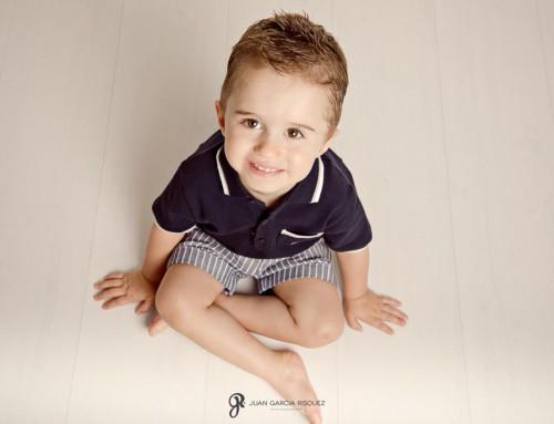 Reportaje fotográfico de niño en Jaén – Pablo