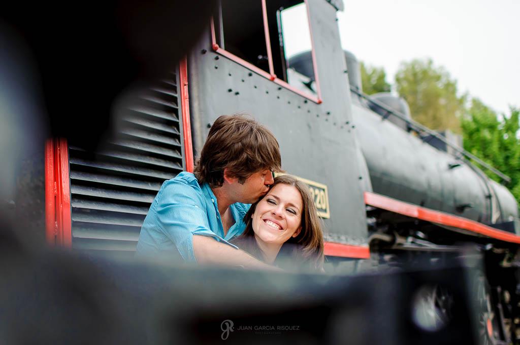 reportaje de fotos para parejas beso