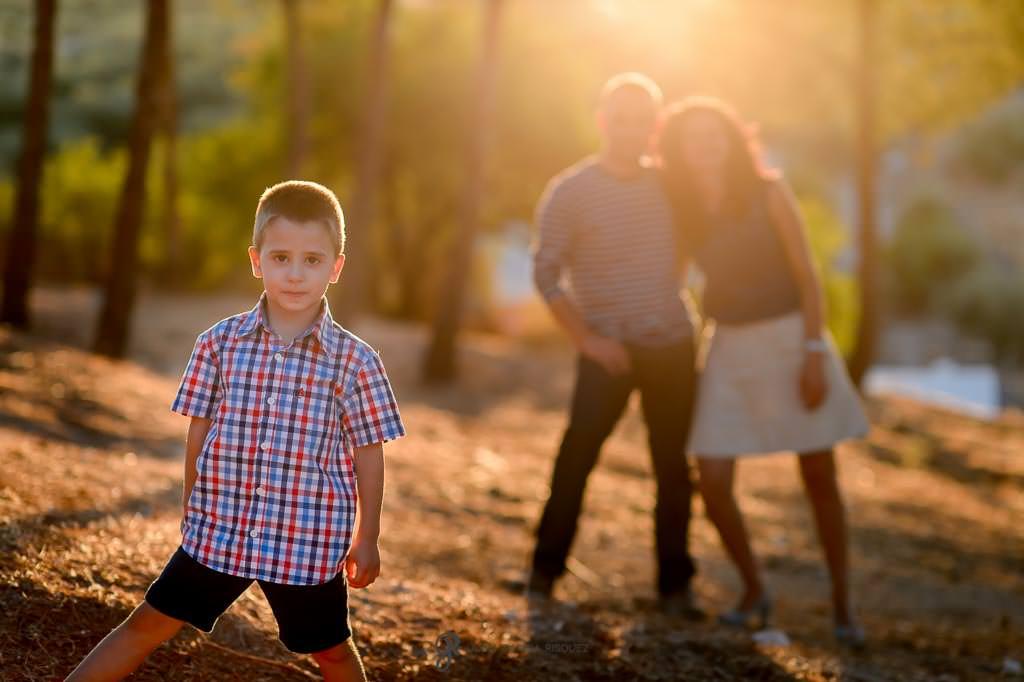 Fotos de familia profesionales en exterior