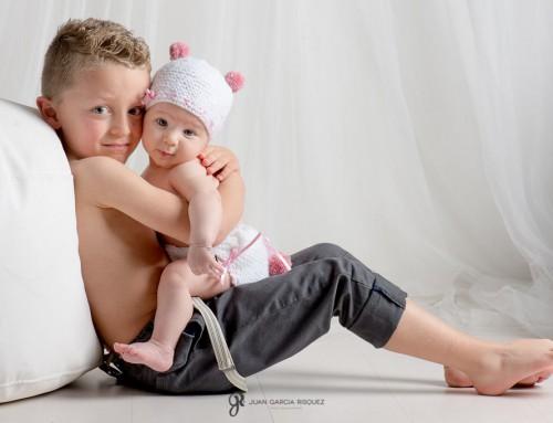 Reportaje fotografico bebe y niño – Eva y Juli