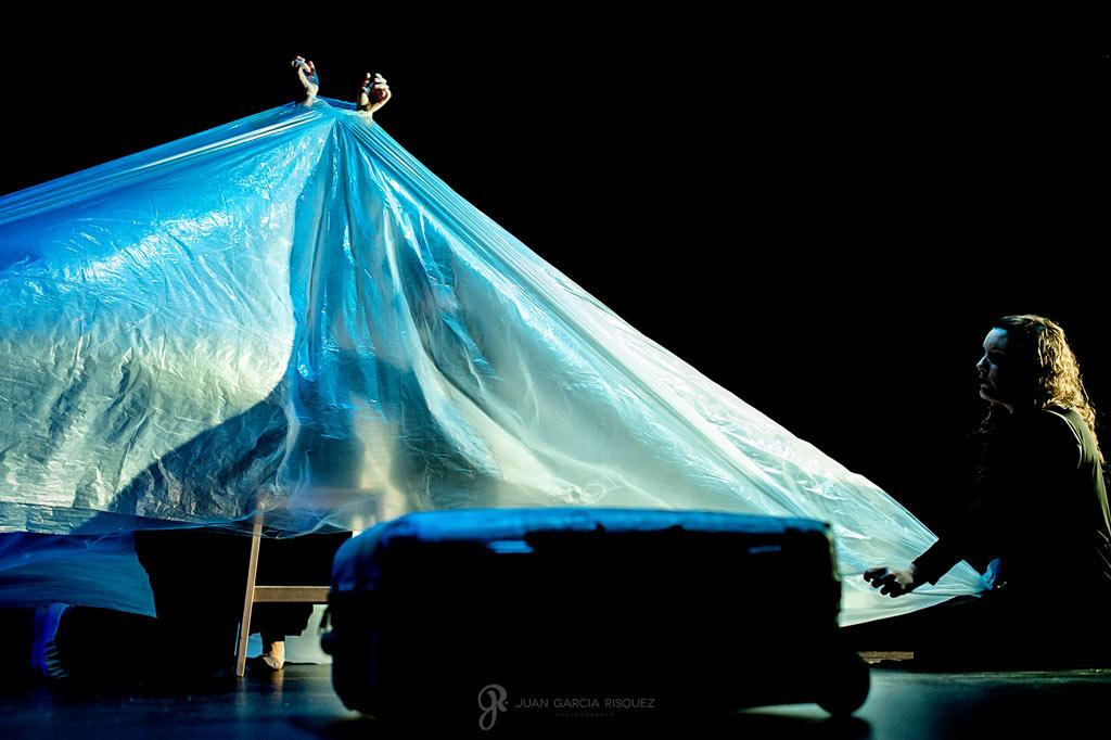 Fotografías de obra de teatro de personas discapacitadas
