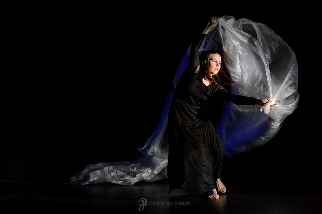 Fotografías de arte inclusivo en una obra de teatro