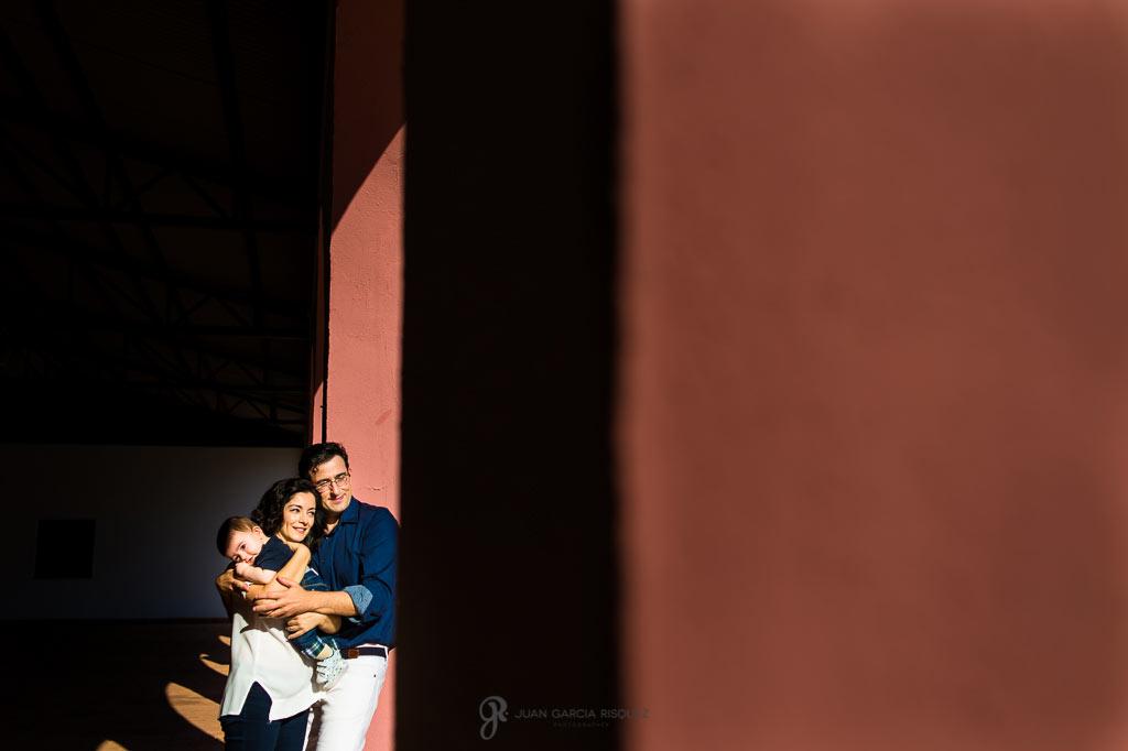 Fotos de familia en finca la marquesa linares