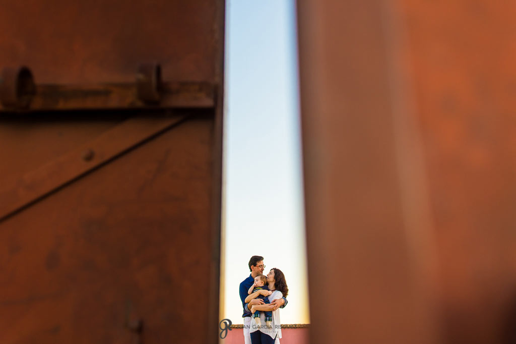 Fotografías de familia en finca la marquesa de vilches en Jaén