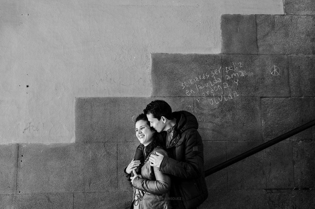 reportaje fotografico de preboda por el centro de madrid