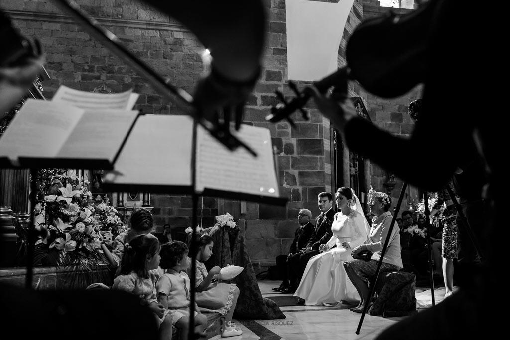 fotos de la ceremonia de unos novios en jaén