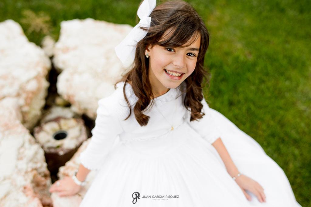 Fotografías de niñas de primera comunión