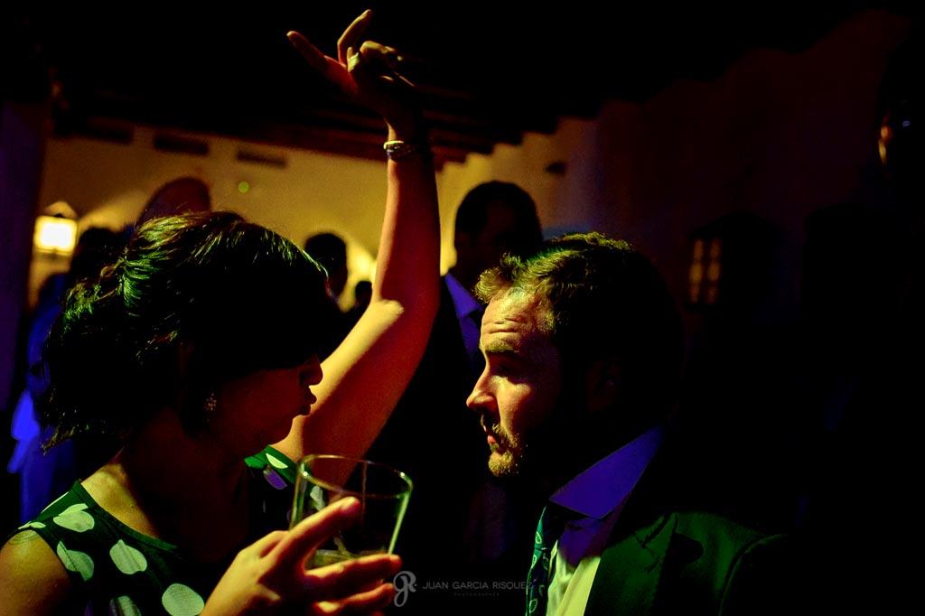 Fotos de la fiesta de la boda en un cortijo en Jaén