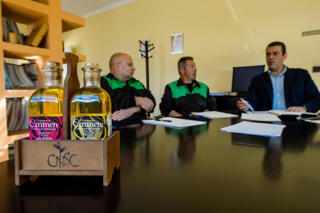 Sesión fotográfica del equipo humano de una empresa para su fotografía corporativa en Jaén.