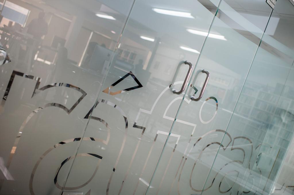 Fotos de las instalaciones de Graficas La Paz para su página web