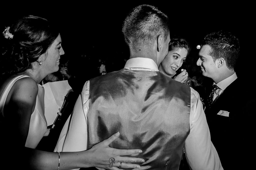 Emociones a flor de piel en una boda en Granada