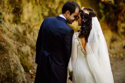 Reportajes de boda sin posados y naturales