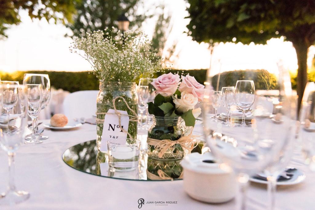 Decoración de Jardines de Jabalcuz para celebrar tu boda