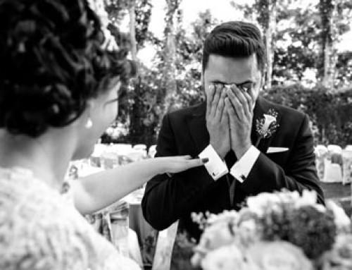 Qué es un First Look: primer encuentro en la boda
