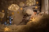 Fotos de navidad especiales con un ambiente y decorado diferente para niños y niñas