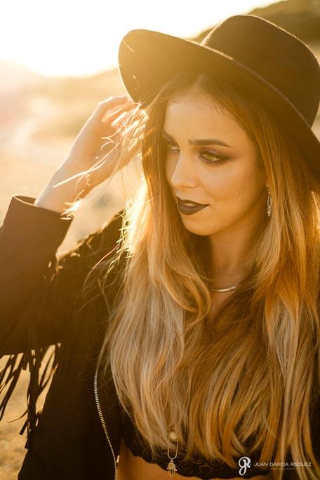 Book fotográfico para redes sociales de una maquilladora