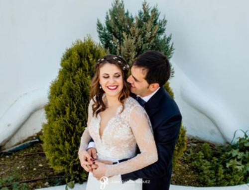 Una boda romántica y emotiva: Patricia y Frank