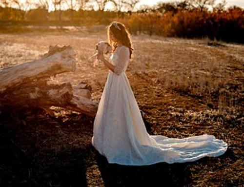 Retratos de novia únicos