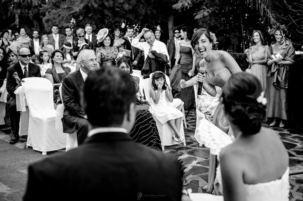 Reportaje de fotos de boda en Jaen Linares sorpresa