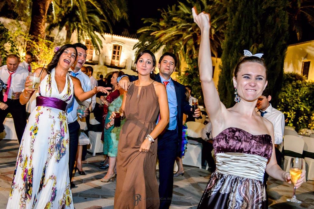 Reportaje de fotos de boda en Martos Jaen fiesta y baile